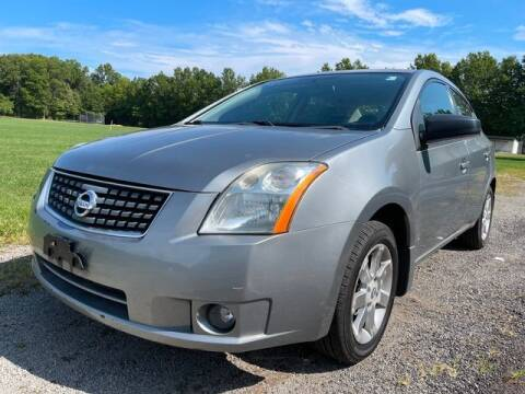 2008 Nissan Sentra for sale at GOOD USED CARS INC in Ravenna OH