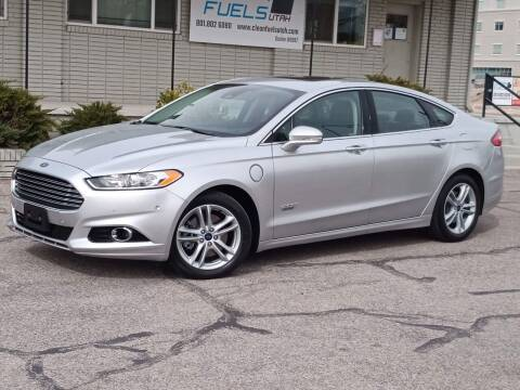 2016 Ford Fusion Energi for sale at Clean Fuels Utah - SLC in Salt Lake City UT