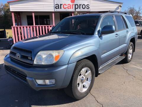 2005 Toyota 4Runner for sale at Arkansas Car Pros in Cabot AR