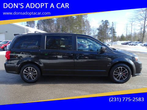 2017 Dodge Grand Caravan for sale at DON'S ADOPT A CAR in Cadillac MI