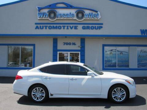 2011 Infiniti M37 for sale at The Wholesale Outlet in Blackwood NJ