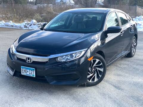 2018 Honda Civic for sale at ONG Auto in Farmington MN