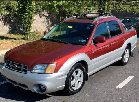 2003 Subaru Baja for sale at Elvis Auto Sales LLC in Grand Rapids MI