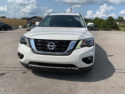 2017 Nissan Pathfinder for sale at Todd Nolley Auto Sales in Campbellsville KY