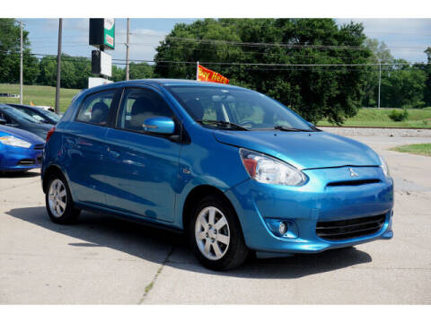 2015 Mitsubishi Mirage for sale at Sand Springs Auto Source in Sand Springs OK