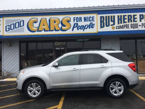 2010 Chevrolet Equinox for sale at Good Cars 4 Nice People in Omaha NE