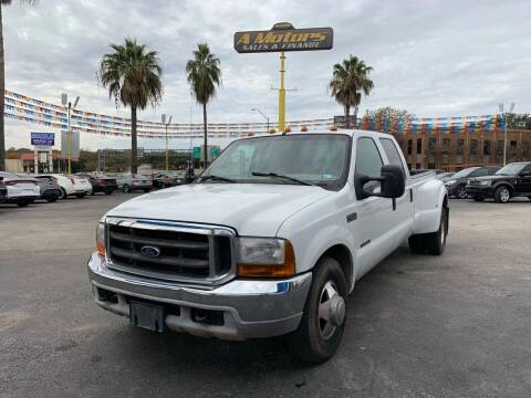 1999 Ford F-350 Super Duty for sale at A MOTORS SALES AND FINANCE in San Antonio TX