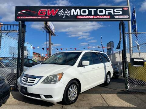 2009 Honda Odyssey for sale at GW MOTORS in Newark NJ