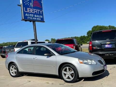 2009 Pontiac G6 for sale at Liberty Auto Sales in Merrill IA