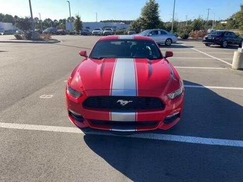 2017 Ford Mustang for sale at PHIL SMITH AUTOMOTIVE GROUP - MERCEDES BENZ OF FAYETTEVILLE in Fayetteville NC