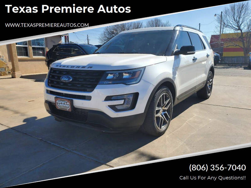 2016 Ford Explorer for sale at Texas Premiere Autos in Amarillo TX