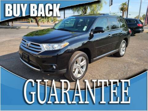 2013 Toyota Highlander for sale at Reliable Auto Sales in Las Vegas NV