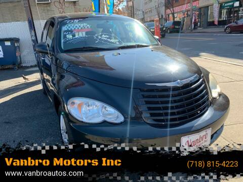 2008 Chrysler PT Cruiser for sale at Vanbro Motors Inc in Staten Island NY