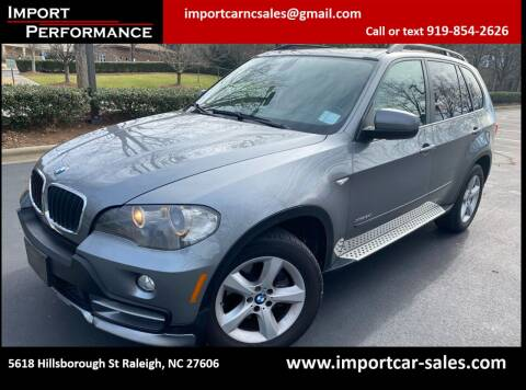 2009 BMW X5 for sale at Import Performance Sales in Raleigh NC