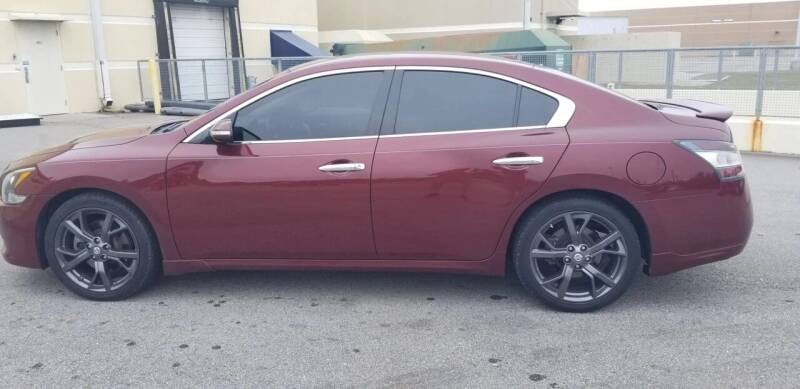 2013 Nissan Maxima for sale at Autofinders in Gulfport MS
