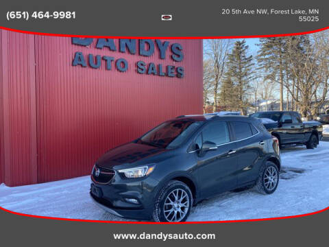 2018 Buick Encore for sale at Dandy's Auto Sales in Forest Lake MN