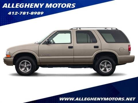 2004 Chevrolet Blazer for sale at Allegheny Motors in Pittsburgh PA