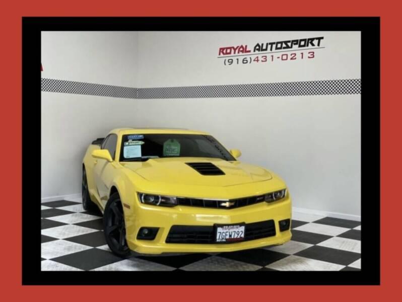 2014 Chevrolet Camaro for sale at Royal AutoSport in Sacramento CA
