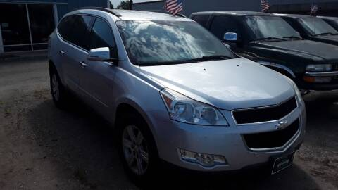 2009 Chevrolet Traverse for sale at HALVORSON AUTO in Cooperstown ND