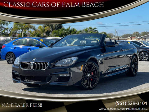 2014 BMW 6 Series for sale at Classic Cars of Palm Beach in Jupiter FL