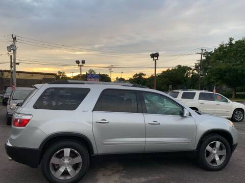 2010 GMC Acadia for sale at Primary Motors Inc in Commack NY