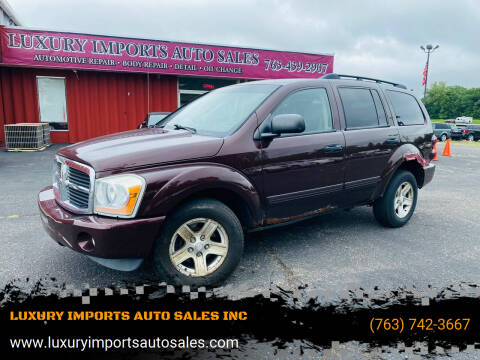 2004 Dodge Durango for sale at LUXURY IMPORTS AUTO SALES INC in North Branch MN