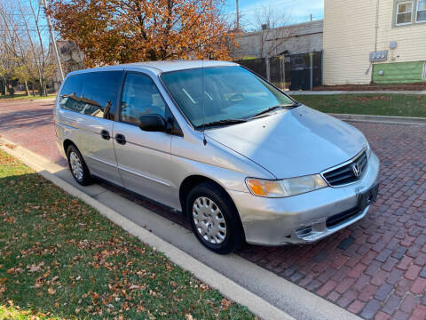 2002 Honda Odyssey for sale at RIVER AUTO SALES CORP in Maywood IL