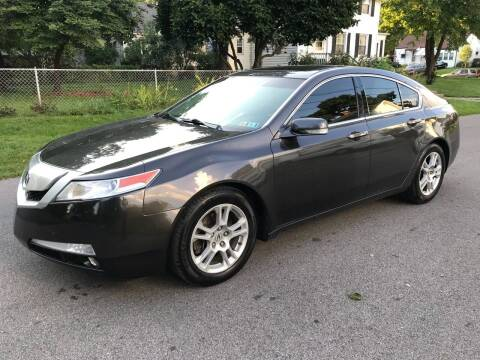 2010 Acura TL for sale at Via Roma Auto Sales in Columbus OH