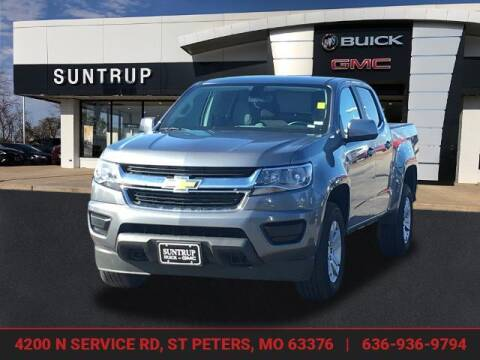 2020 Chevrolet Colorado for sale at SUNTRUP BUICK GMC in Saint Peters MO