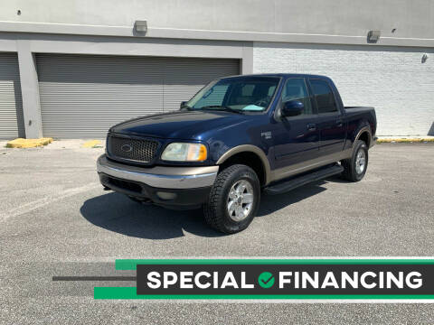 2002 Ford F-150 for sale at Mid City Motors Auto Sales - Mid City South in Fort Myers FL