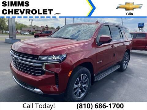 2021 Chevrolet Tahoe for sale at Aaron Adams @ Simms Chevrolet in Clio MI