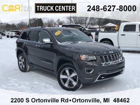 2016 Jeep Grand Cherokee for sale at Jamie Sells Cars 810 in Ortonville MI