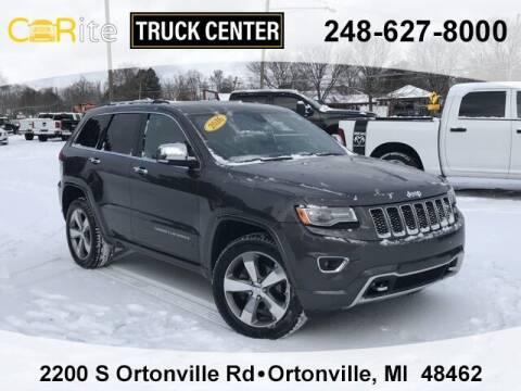 2016 Jeep Grand Cherokee for sale at Carite Truck Center in Ortonville MI