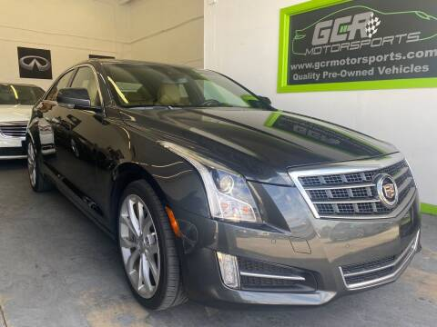 2014 Cadillac ATS for sale at GCR MOTORSPORTS in Hollywood FL