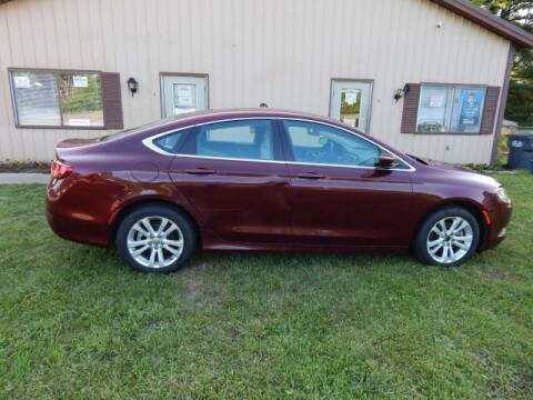 2015 Chrysler 200 for sale at PARAGON AUTO SALES in Portage MI