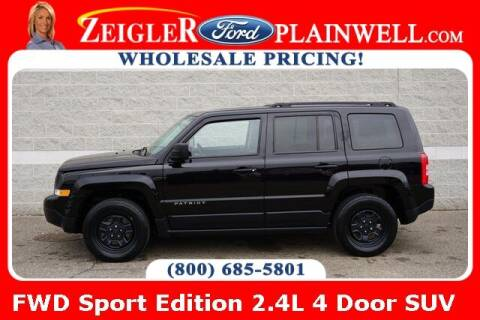 2015 Jeep Patriot for sale at Zeigler Ford of Plainwell- Jeff Bishop in Plainwell MI