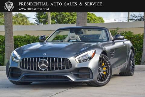2018 Mercedes-Benz AMG GT for sale at Presidential Auto  Sales & Service in Delray Beach FL