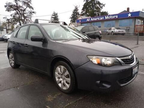 2009 Subaru Impreza for sale at All American Motors in Tacoma WA