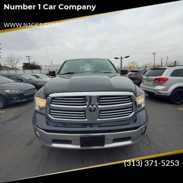 2014 RAM Ram Pickup 1500 for sale at NUMBER 1 CAR COMPANY in Warren MI