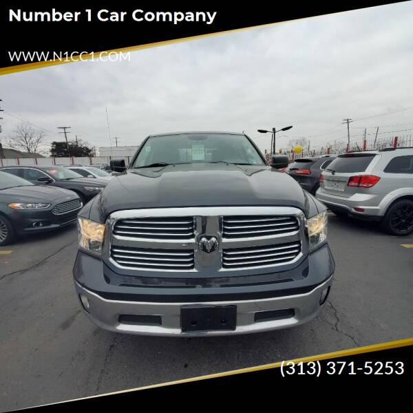 2014 RAM Ram Pickup 1500 for sale at NUMBER 1 CAR COMPANY in Detroit MI