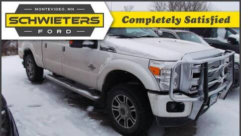 2013 Ford F-250 Super Duty for sale at Schwieters Ford of Montevideo in Montevideo MN