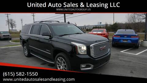 2016 GMC Yukon XL for sale at United Auto Sales & Leasing LLC in La Vergne TN