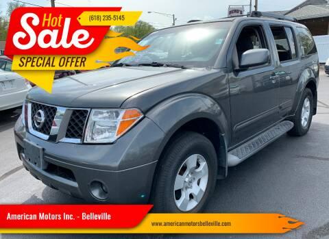 2006 Nissan Pathfinder for sale at American Motors Inc. - Belleville in Belleville IL