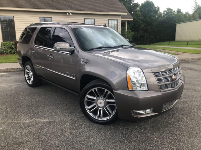 2013 Cadillac Escalade for sale at J. MARTIN AUTO in Richmond Hill GA