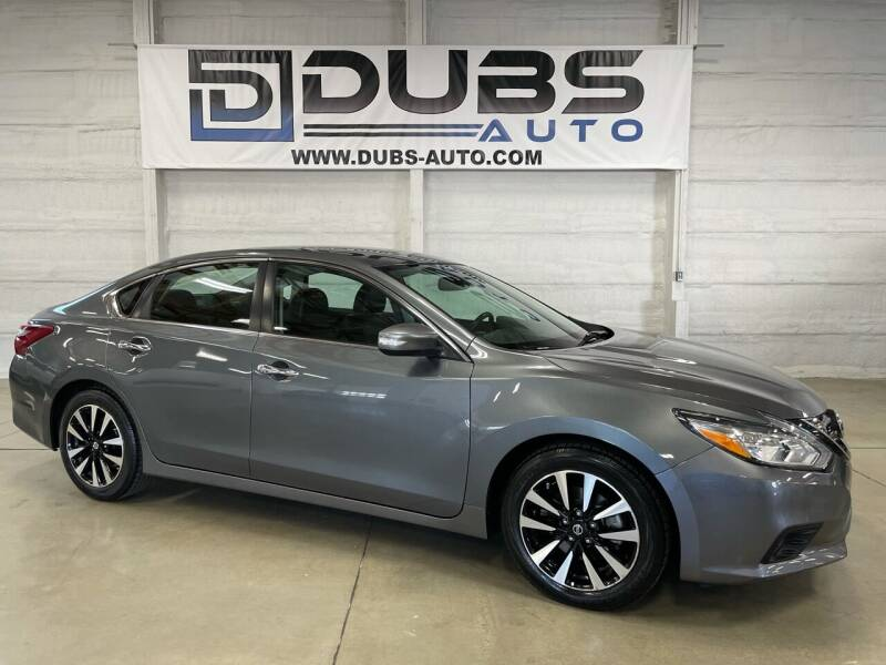 2018 Nissan Altima for sale at DUBS AUTO LLC in Clearfield UT