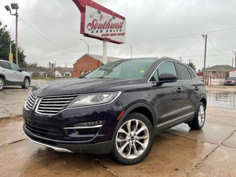 2015 Lincoln MKC for sale at Southwest Car Sales in Oklahoma City OK