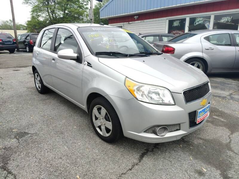 2010 Chevrolet Aveo for sale at Peter Kay Auto Sales in Alden NY
