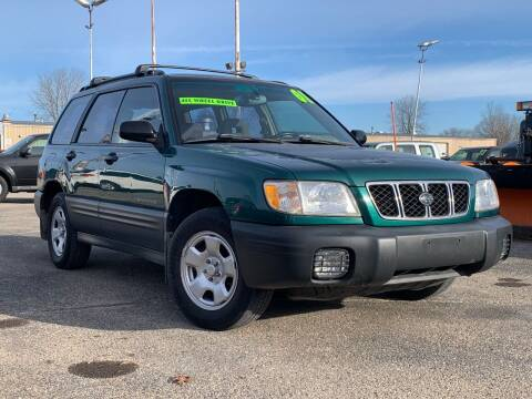 2001 Subaru Forester for sale at HIGHLINE AUTO LLC in Kenosha WI