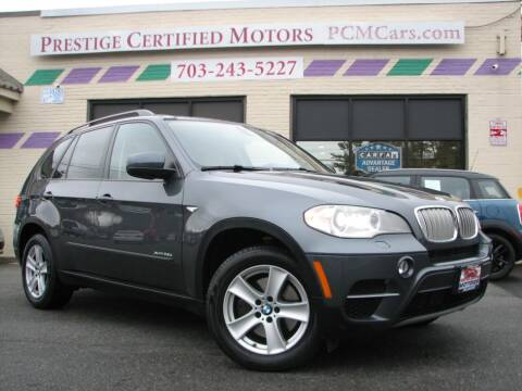 2012 BMW X5 for sale at Prestige Certified Motors in Falls Church VA