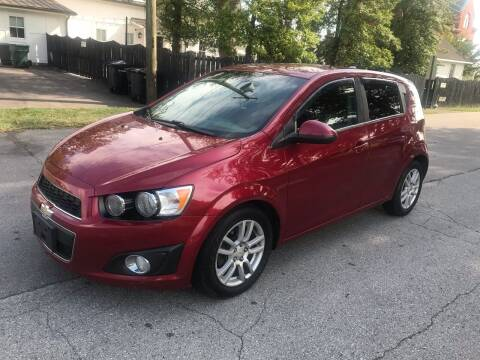 2012 Chevrolet Sonic for sale at Eddie's Auto Sales in Jeffersonville IN